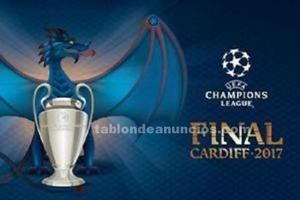 Boletos (categoria 3) para la final de la uefa champions