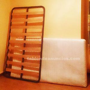 Colchón y somier de 190x110
