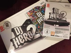 Dj hero 2 más dos juegos wii