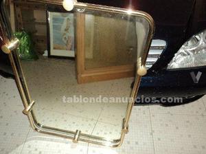 espejo bao con apliques luz