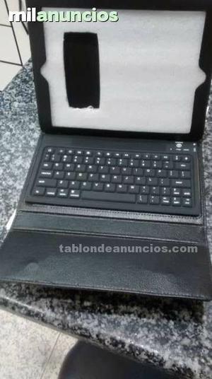 Funda para tablet con teclado bluetooth