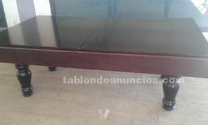 Mesa de billar con accesorios