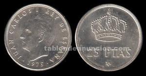 Monedas 25 pesetas