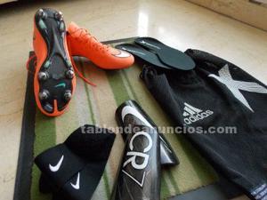 Nike mercurial vapor x sg-pro talla 42,5