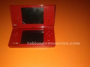 Nintendo ds color rojo
