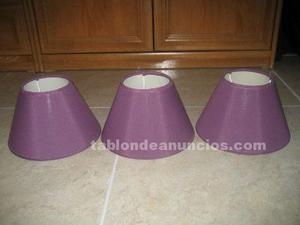 Pantallas de lámparas (tulipas)