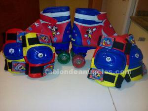Patines infantiles mickey