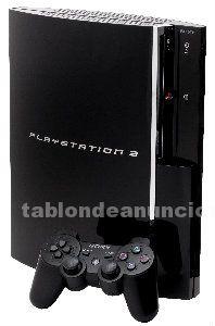 Playstation 3 fat retrocompatible + 2 mandos + cable hdmi