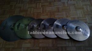 Set de platos y pedal de bombo