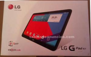 """Tablet lg g pad 10.1"""" a estrenar"""