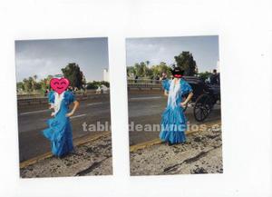 Traje de flamenca talla  + mantoncillo