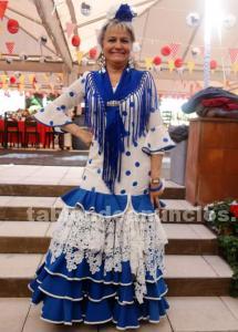 Traje flamenca alta costura