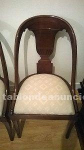 Vendo 6 sillas de comedor