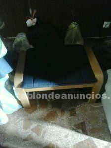 Vendo sillón relax con reposapiés