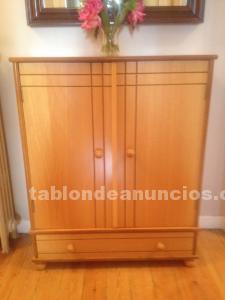 Zapatero de madera maciza por 20 euros