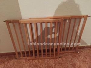 Vallas de madera 2m x 80cm posot class - Vallas para escaleras ...