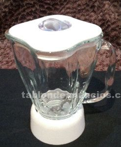 Jarra de cristal ´´oster´´con todos los accesorios