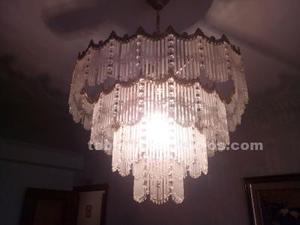 Lámpara clásica de cristal