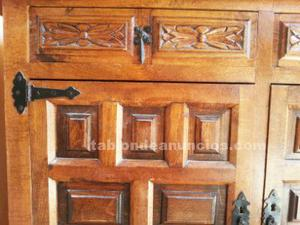 Mesa madera maciza, consola y aparador