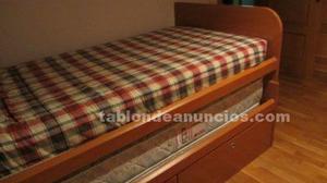 Mueble de dos camas