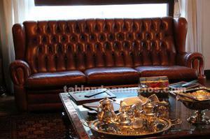 Se vende sofá de piel