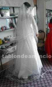 Vendo vestido de novia precioso