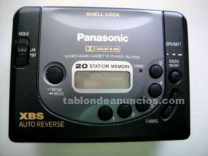 Walkman con radio estéreo panasonic