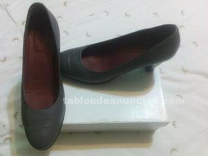 Zapatos piel señora