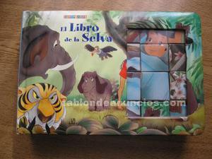 Puzzle-libro del libro de la selva