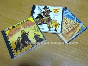 Vendo cds originales con melodias de peliculas del oeste y