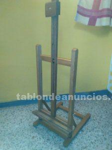 Atril plegable de madera