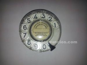 Discos marcador de telefono