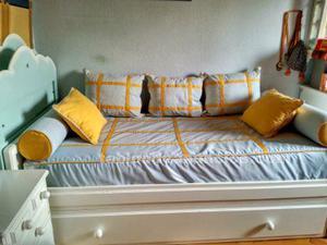 Habitación juvenil vtv lacada en blanco vendo preciosa