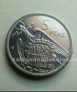 Moneda 5 pts. Sc.