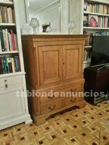 Mueble madera maciza tv