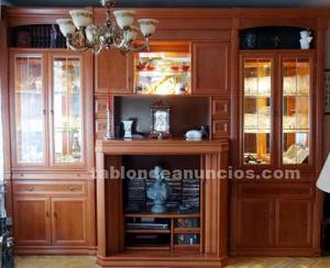 Mueble salón estilo boiserie