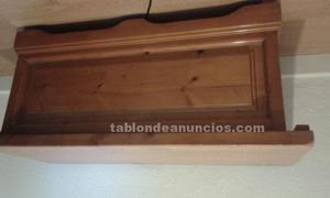 Baul arcon banco de madera madrid posot class for Banco arcon madera