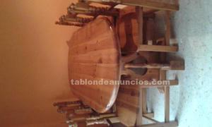 Ofertas mesa y sillas