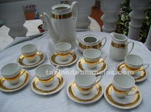 Porcelana juego de café santa clara