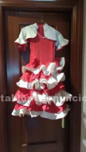 Traje de flamenca, talla 4