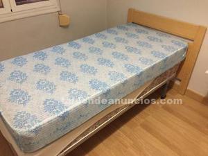 Vendo dos cabeceros de cama de 90 1 somier con patas y dos