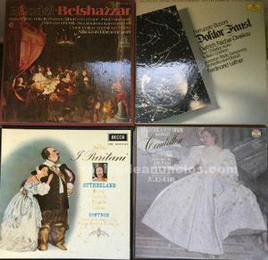 Vinilos de ópera colección completa