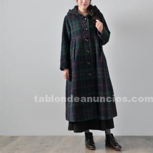 Abrigo largo de lana de buykud