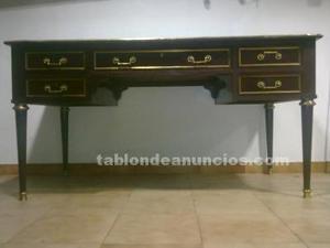 Antigua mesa de espacho estilo ingles