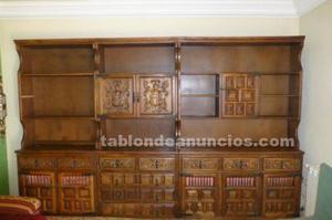 Mueble comedor madera maciza en perfecto estado
