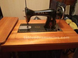 Vendo máquina de coser alfa con pedal sigma