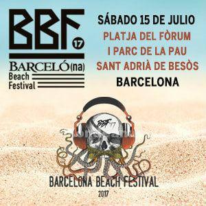 2 entradas barcelona beach festival