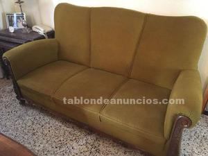 Dos sillones antiguos tapicer a madrid posot class for Sillones clasicos ingleses