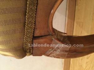 4 sillas isabelinas en buen estado