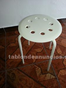 6 sillas y 4 patas